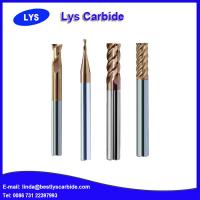 High quality end mill tungsten solid carbide metric end mill sizes