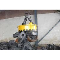 China 20 Tons Lifting Electromagnet , Circular Lifting Magnet Fully Sealed Structure on sale