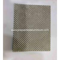 Buy cheap Alloy 1060 Diamond pattern embossed aluminum sheet used for Decoration from wholesalers