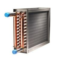 Buy cheap 100K BTU boiler hot water to air heat exchanger spiral finned copper Coil heat exchanger from wholesalers