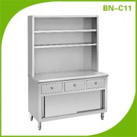 Buy cheap Stainless steel kitchen cabinet, sinker water channels from wholesalers