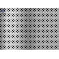 Buy cheap 1mm SUS316 Stainless Steel Perforated Sheet Metal for Building Industry from wholesalers