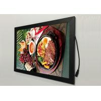 Buy cheap A2  Flat Snap Frame Led Light Box Black Color Backlit For Restaurant Menu Display from wholesalers