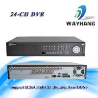 Buy cheap CCTV 24-CH DVR Standalone H.264 Net DVR Security System HDMI/VGA Surveillance from wholesalers