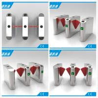 Buy cheap Facial Reader Access Control Flap Gate Barrier Stainless Steel For Entrance from wholesalers