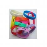 Custom silicone solid bracelet