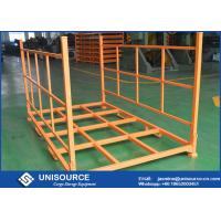 Buy cheap 2400lbs Load Adjustable Warehouse Tire Racks Foldable with Removable Posts from wholesalers