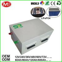 Buy cheap Customized deep cycle life rechargeable lifepo4 battery pack for electric vehicle from wholesalers