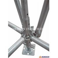 Buy cheap Galvanized Ringlock Scaffolding System , Pin Lock ScaffoldDia 48.3 X 3mm from wholesalers