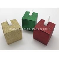 Buy cheap Folding 3× 3× 3 Xmas Gift Boxes Small To Large , Party Decorative Holiday Gift Containers Cute from wholesalers