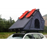 Buy cheap Family Camping Aluminum Hard Shell Roof Top Tent Safe Pop Up Tent 125cm from wholesalers