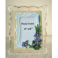 Buy cheap Clear Wall Mounted Acrylic Photo Frames With Magnet , Simple And Elegant product