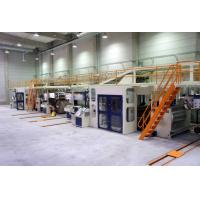 Buy cheap Economic  type 5 ply Corrugated cardboard production line from wholesalers