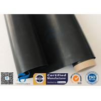 Buy cheap Black PTFE Coated Fiberglass Fabric 0.25mm Cloth For Hot Press from wholesalers
