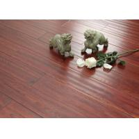 Buy cheap Country Ash Commercial Vinyl Plank Flooring Glue Down 7 * 48 Red Wood Texture from wholesalers