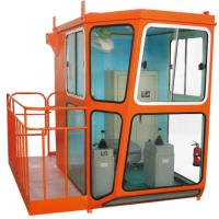 Buy cheap Good Quality Red Design 1.4m Width Cabin For Overhead Crane Operator product