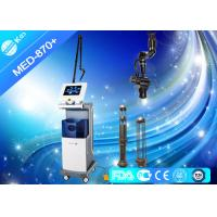 Buy cheap 10600nm Co2 Fractional Laser Machine For Acne Scars , Radio Frequency Skin Tightening Devices from wholesalers