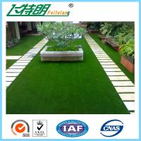 Buy cheap Decoration Laying Fake Grass Turf / PE Curly Landscape Artificial Grass from wholesalers