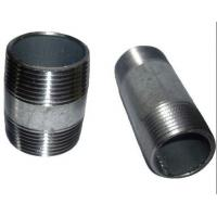 Buy cheap ASTM A733 ASTM A53 welded Steel Pipe Nipples ,Thread ANSI / ASME B1.20.1 from wholesalers