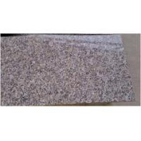 Commercial Honed Granite Stone Tiles , Brown Granite Floor Tiles