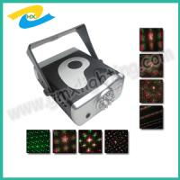 Buy cheap Mini 8 patterns Laser stage lighting with sound control and red & greeen from wholesalers