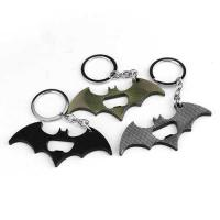 Buy cheap Die casting cool innovative movie batman bat 2D souvenir beer bottle opener keychain, copper and bronze plating. from wholesalers