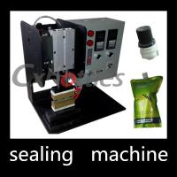 Buy cheap Durable Stand Up Pouch Sealing Machine / Plastic Spout Sealing Machine 4.9*0.6mm Inner Size from wholesalers