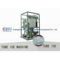 Buy cheap Freon R22 / R404a Electrical  Heavy Duty Ice Tube Machine 10 Ton / Day from wholesalers