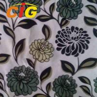 Buy cheap 100% Polyester Twill / Plush Backing Sofa Upholstery Fabric Sofa Seat Cover Fabric product