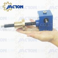 Buy cheap WSH Series With Screw Jack Lift Systems Strong Electrically Screw Jack Supplier High precision hand wheel screw jack from wholesalers