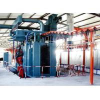 Buy cheap Steel Shot Blasting Machine Cleaning Surface Of Casting / Forging from wholesalers
