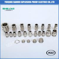 Buy cheap BDM-10 single sealed Explosion Proof  Weatherproof  Cable Glands for non-armoured Cable product