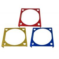 Buy cheap Precise Dimension Metal Stamping Parts Anodized Aluminum Production from wholesalers