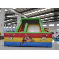 Buy cheap Kindergarten Baby Commercial Inflatable Water Slides Rutsche Pirate Theme Colourful from wholesalers