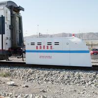 Buy cheap Battery powered large power motorized railway vehicle as a train tractor from wholesalers
