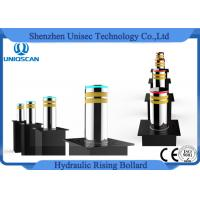 Buy cheap Traffic Road Safety Barrier Hydraulic Rising Bollards Stainless Car Park Bollards from wholesalers
