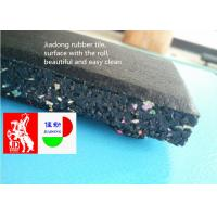 Buy cheap Commercial Garage Rubber Flooring Rolls 50cm*50cm Size Pressure Resistance from wholesalers