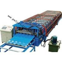 Buy cheap Glazed Tile Roll Forming Machine for Color Steel Tile , Roof Wall Cladding , Wave Tile from wholesalers