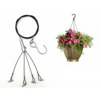 Buy cheap 1.5mm Four Foot Steel wire Hanging Kits For Hanging Planters/Flower Pot from wholesalers