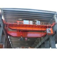 Buy cheap Workstation EOT Double Girder Overhead Crane With Hook 5-450 Ton 30m Lifting Height from wholesalers