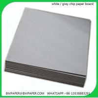 Buy cheap Grey paper roll / Paper jumbo roll / Printing paper roll from wholesalers