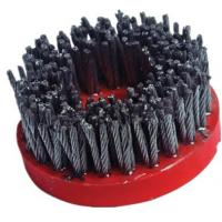 Buy cheap High Speed Diamond Abrasive Brush Plastic Backed Excellent Polishing Performance from wholesalers
