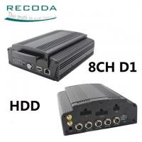 Buy cheap Hard Disk Mobile HD DVR 3G / 4G GPS Tracking Support Live View Video For Bus from wholesalers