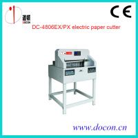Buy cheap DC-4806EX electric paper cutter from wholesalers