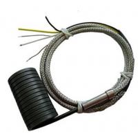 Buy cheap Spring coil Heater 4*2mm JN-CH7 250W with K/J thermcouple Fiberglass wire from wholesalers