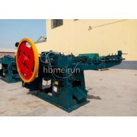 Buy cheap Solid Iron Nail Manufacturing Machine Rated 380 Volts Electric Power Source from wholesalers