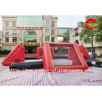 Buy cheap 0.55 Mm PVC Big Inflatable Sports Games For Football Field Customised Size from wholesalers