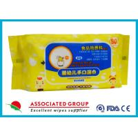 Buy cheap Healthy Unscented Biodegradable Fresh Baby Wet Tissue For Hand And Mouth from wholesalers
