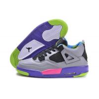 China Cheap Nike Air Jordan 4 Shoes Grey Purple Pink From sportsyyy.ru on sale