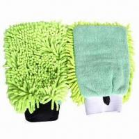 Buy cheap Microfiber Chenille Cleaning Mitts with 80% Polyester and 20% Polyamide from wholesalers